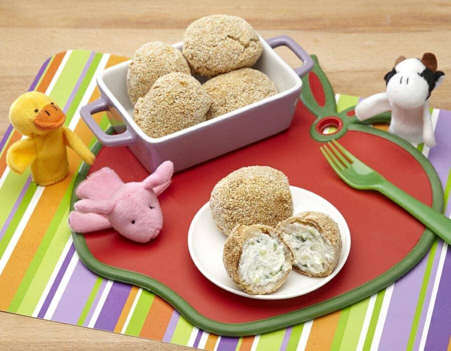 Ovetto di patate con ricotta e zucchine Ricette per bambini 1-3 anni
