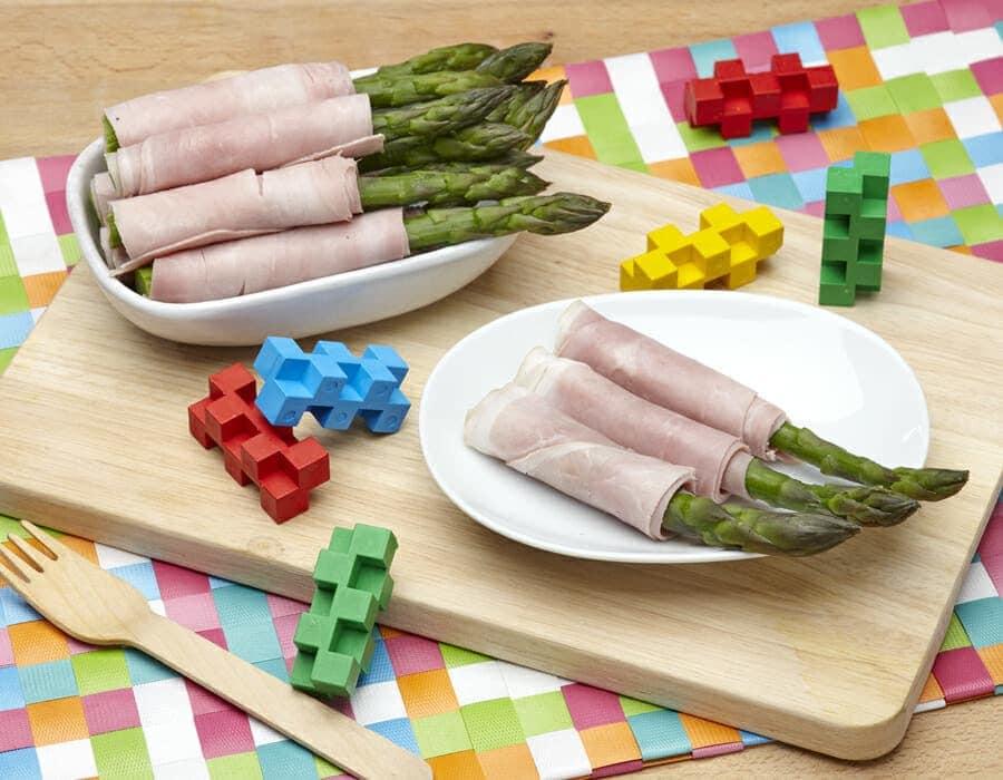 Asparagi coperti ricette per bambini 1-3 anni
