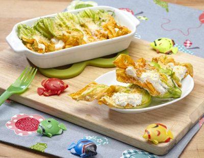Fiori di zucca con sorpresa ricette per bambini 4-10 anni