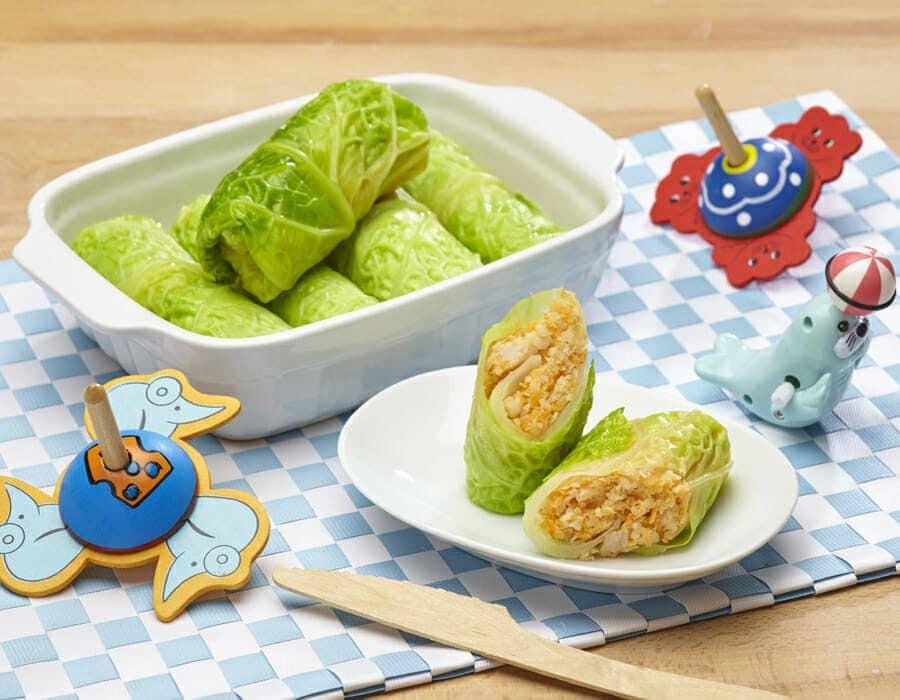 Verza con sorpresa ricette per bambini 4-10 anni