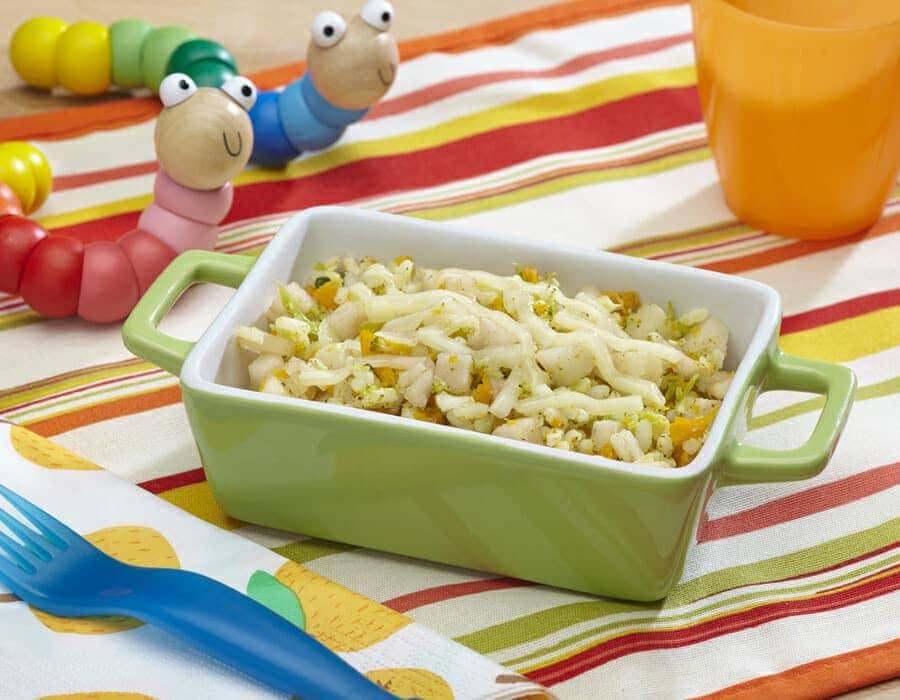 Risotto con frutta Ricette per bambini 4-10 anni
