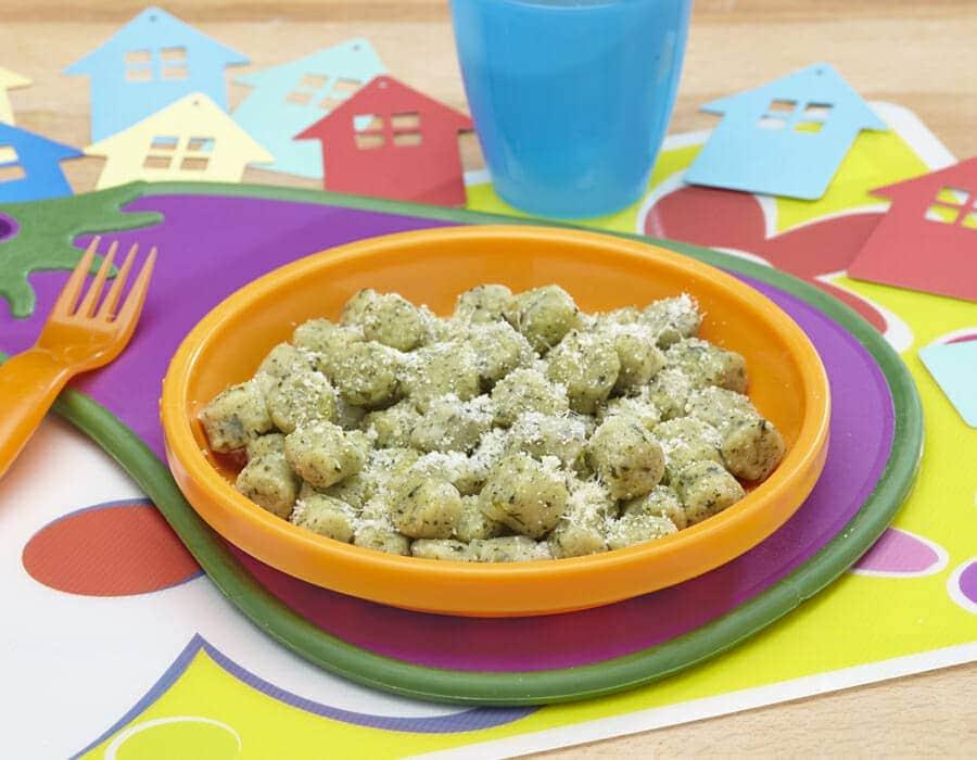 Gnocchetti di spinaci Ricette per bambini 1-3 anni