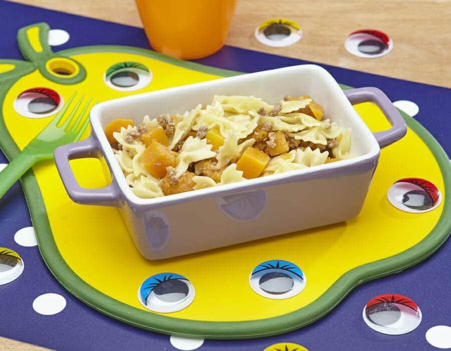 Farfalline zucchinate Ricette per bambini 1-3 anni