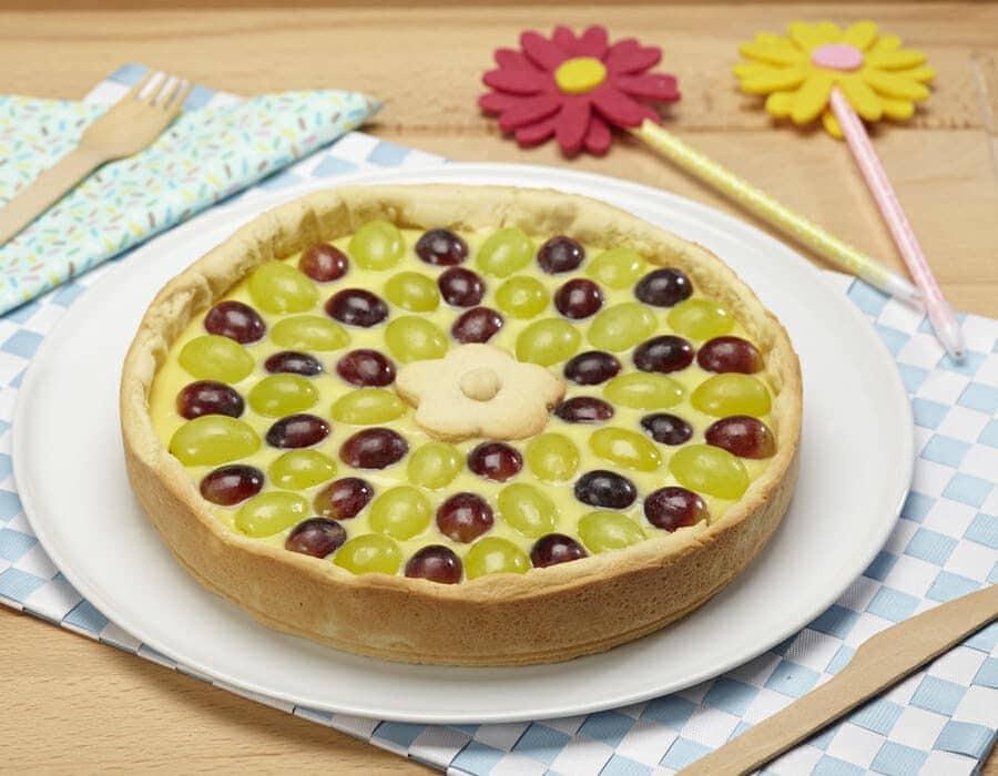 Crostata di uva ricette per bambini 4-10 anni