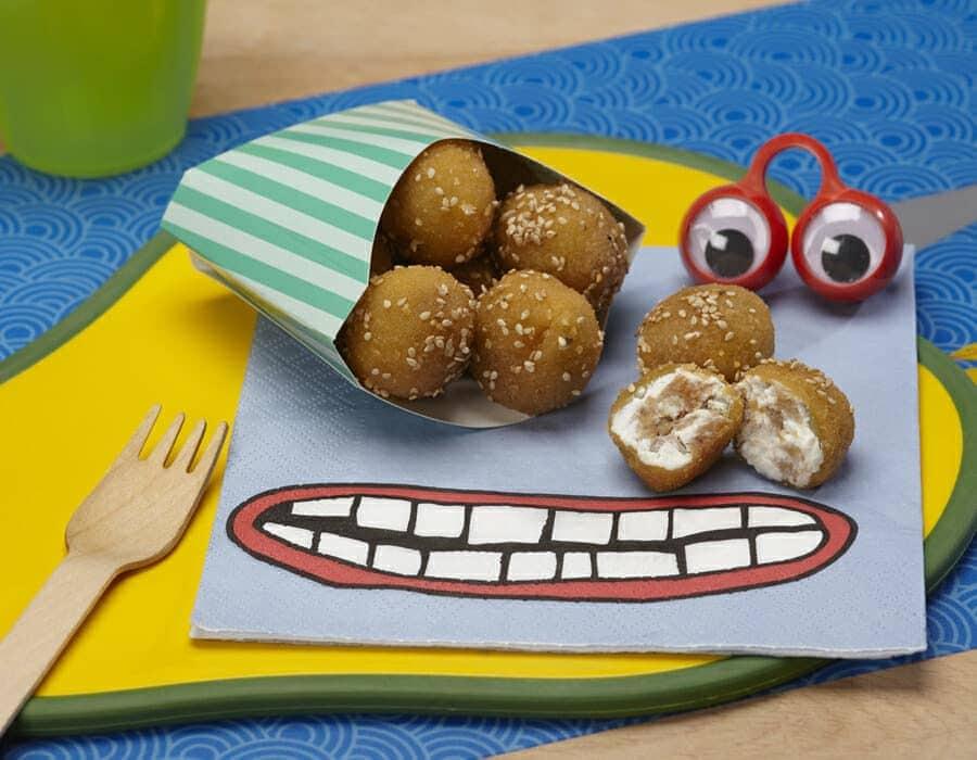 Polpette di ricotta e tonno ricette per bambini 4-10 anni