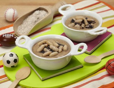 Polenta di farina di castagne ricette per bambini 1-3 anni