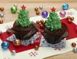 Cupcake-con-alberello-di-natale
