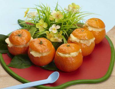 Sorbetto di clementine al limone Ricette per bambini 4-10 anni