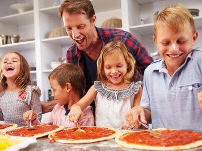 I bambini in cucina