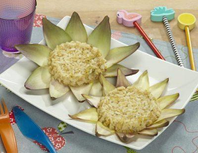 Medaglioni ai carciofi ricette per bambini 1-3 anni