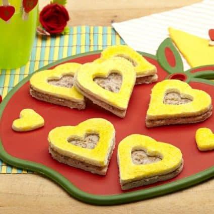 sandwich di san valentino