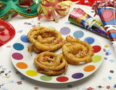 Spiraline di carnevale Ricette per bambini 4-10 anni