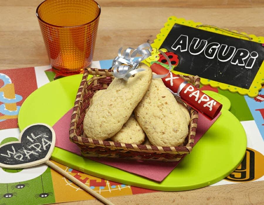 Biscotti del papà ricette per bambini 4-10 anni