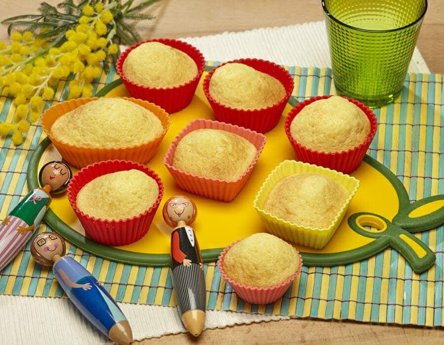 Cupcake 8 marzo Ricette per bambini 1-3 anni