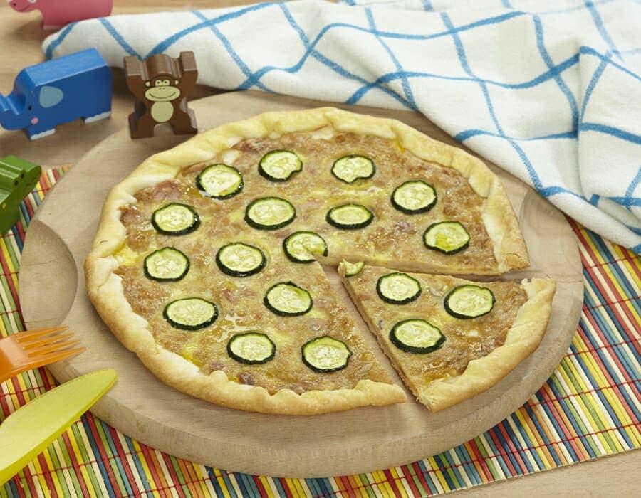 Pizza col tonno Ricette per bambini 4-10 anni