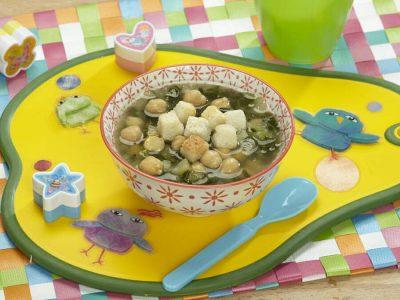 Zuppa di ceci e bietola