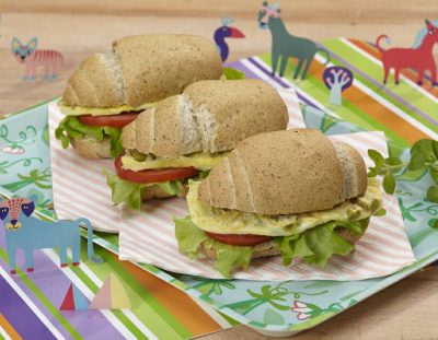 Panino primavera ricette per bambini 4-10 anni