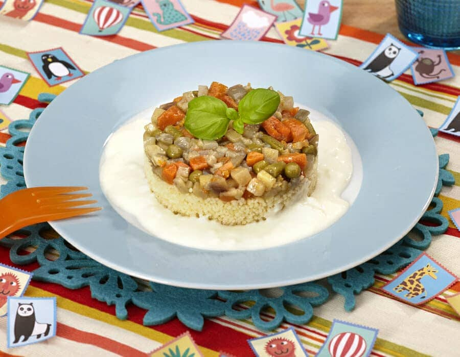Couscous con verdure Ricette per bambini 4-10 anni