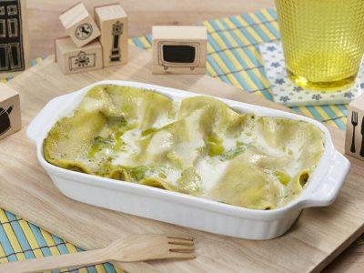 Lasagne con crema di lattuga