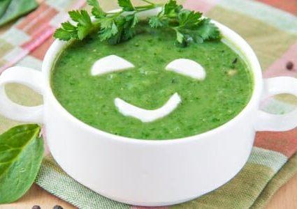 Purea di spinaci