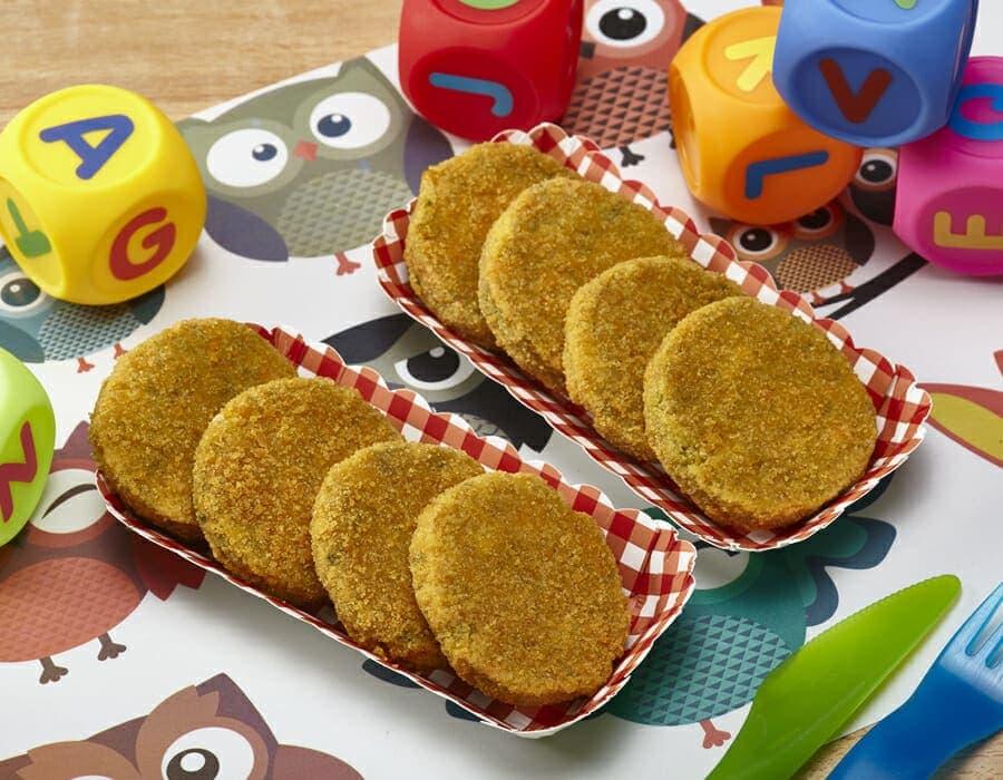 Schiacciatine di quinoa e zucchine ricette per bambini 1-3 anni
