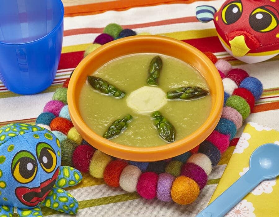 Crema di asparagi e patate Ricette per bambini 1-3 anni