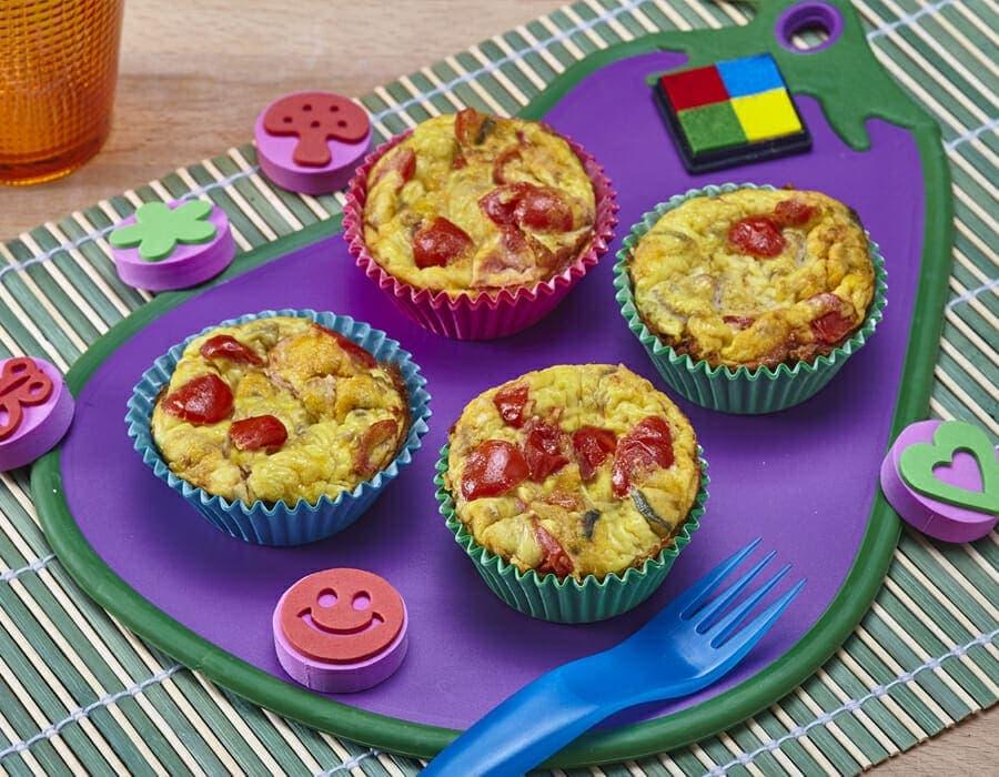 Tortino di uova gustoso Ricette per bambini 4-10 anni