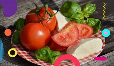 La mozzarella, pomodori e mozzarella- alimentazionebambini. It by coop