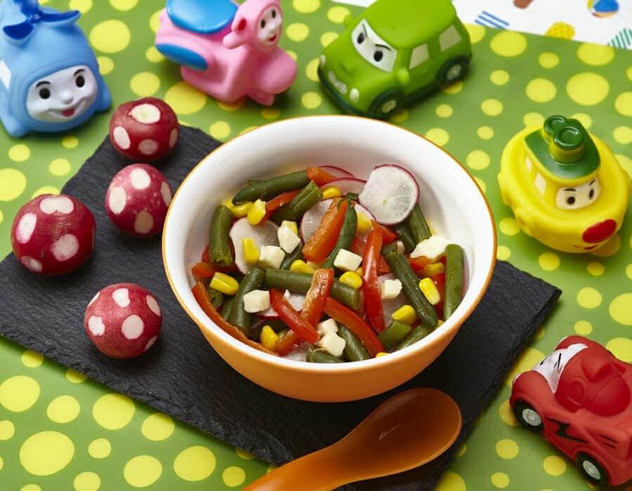 Insalata completa ricette per bambini 4-10 anni