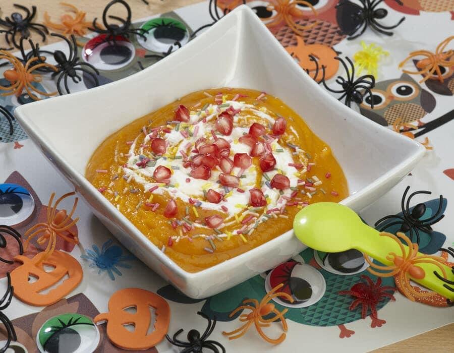 Cremina coriandolosa di halloween ricette per bambini 4-10 anni