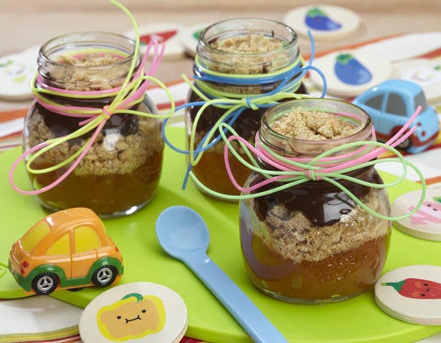 Dolci coppette d'autunno ai cachi Ricette per bambini 1-3 anni