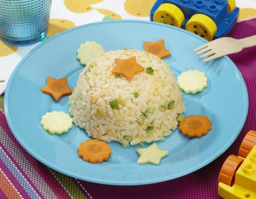 Risotto con verdure al latte Ricette per bambini 1-3 anni