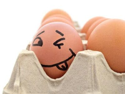 Un uovo fa l'occhiolin