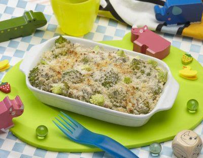 Cavolo romano gratinato ricette per bambini 1-3 anni