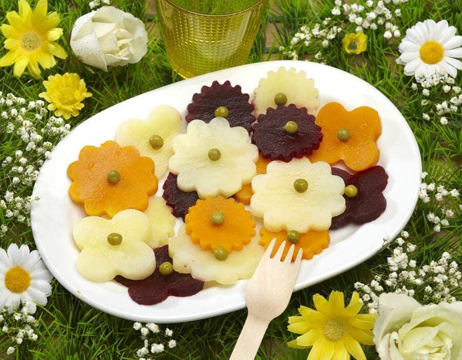 Fiorellini della donna Ricette per bambini