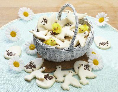 Colombine e uova pasquali ricette per bambini 1-3 anni