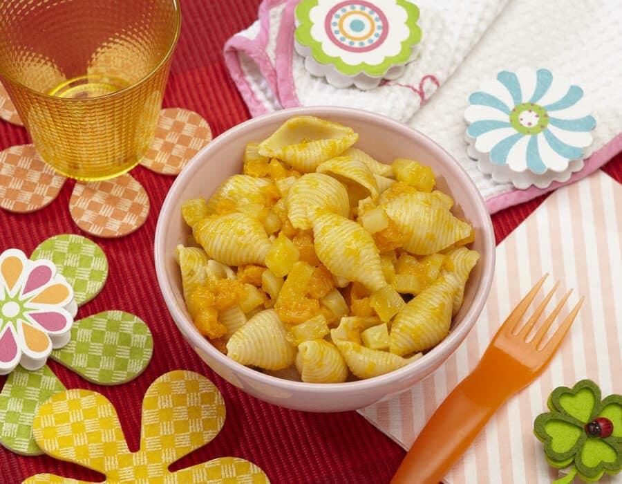 Conchigliette con topinambur ricette per bambini 1-3 anni