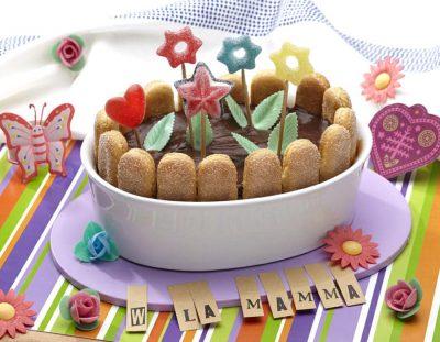 Dolce giardino fiorito per la mamma ricette per bambini 4-10 anni