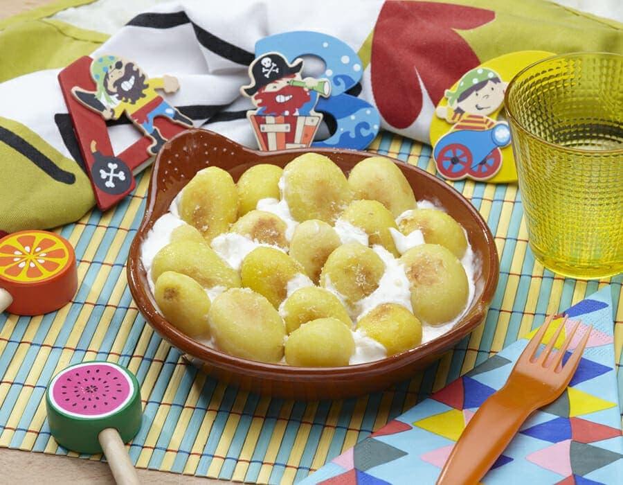 Patate novelle al forno Ricette per bambini 1-3 anni