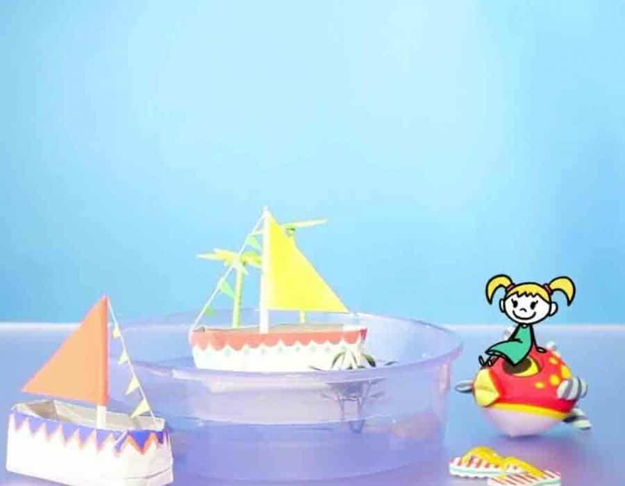 Barchette Isola dei Pirati