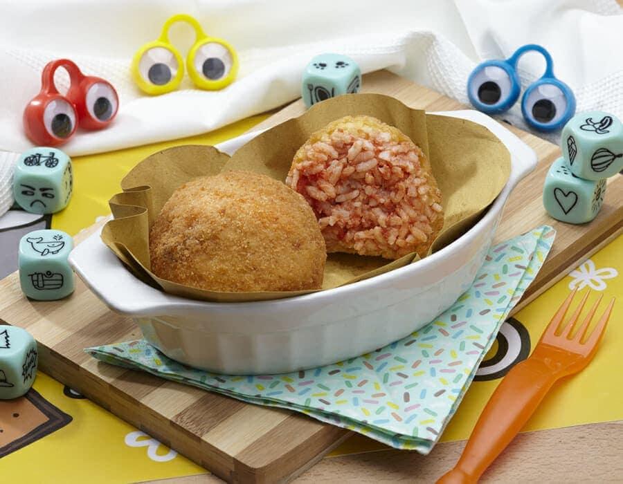 Arancini di pesce Ricette per bambini 4-10 anni