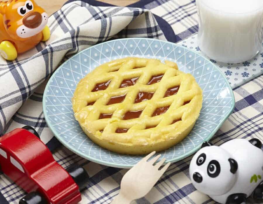 Crostatine di albicocca ricette per bambini 1-3 anni