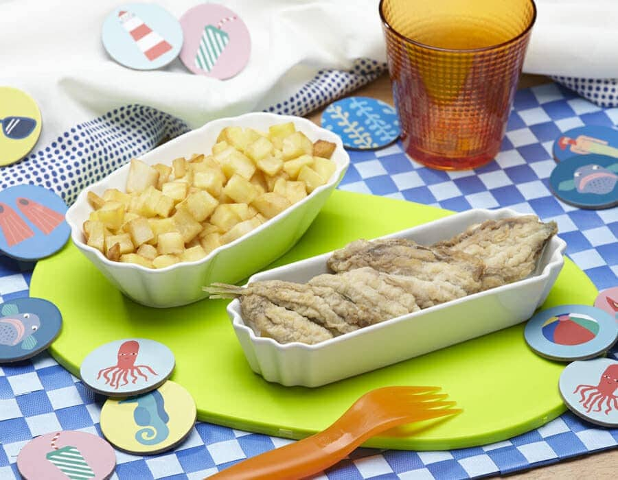Sardine con patate Ricette per bambini 4-10 anni