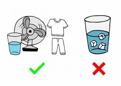 Colpo di calore, collasso da calore e colpo di sole: come prevenire e intervenire