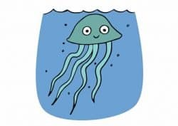 come affrontare le punture di meduse
