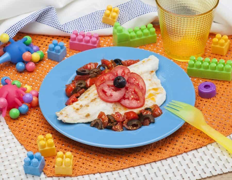 Filetti di persico con limoni e pomodorini ricette per bambini 1-3 anni