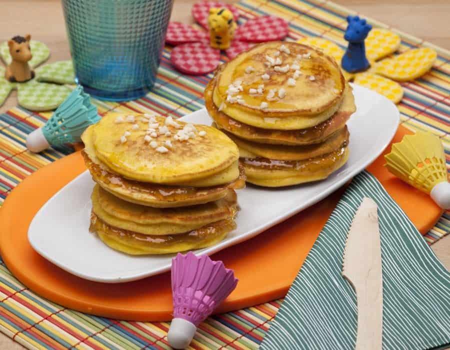 Pancake dolce autunno ricette per bambini 1-3 anni