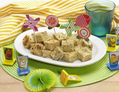 Frittatona con i baffi ricette per bambini 4-10 anni