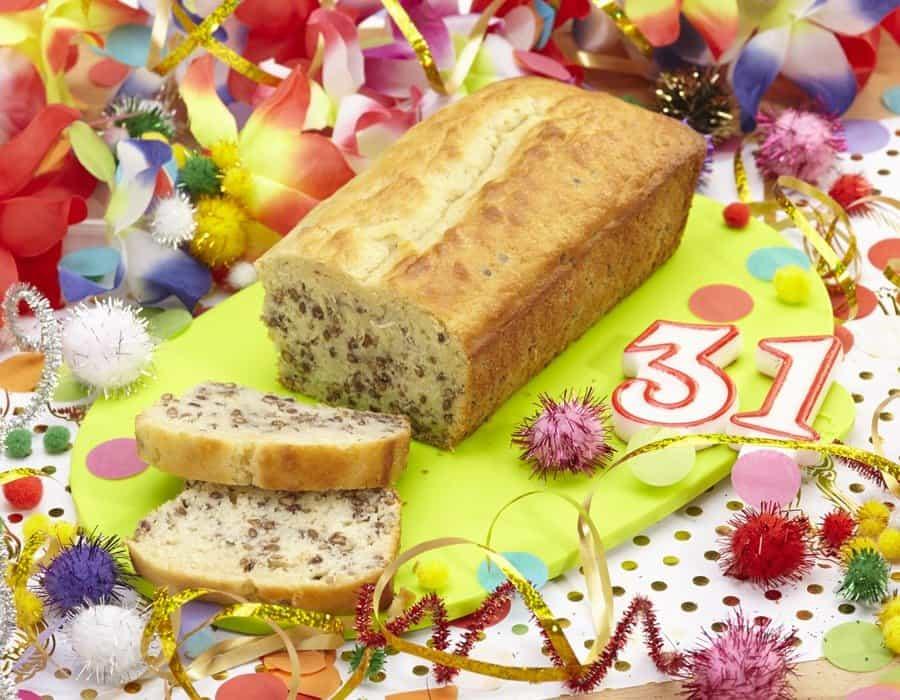 Plumcake di Capodanno Ricette per bambini 4-10 anni