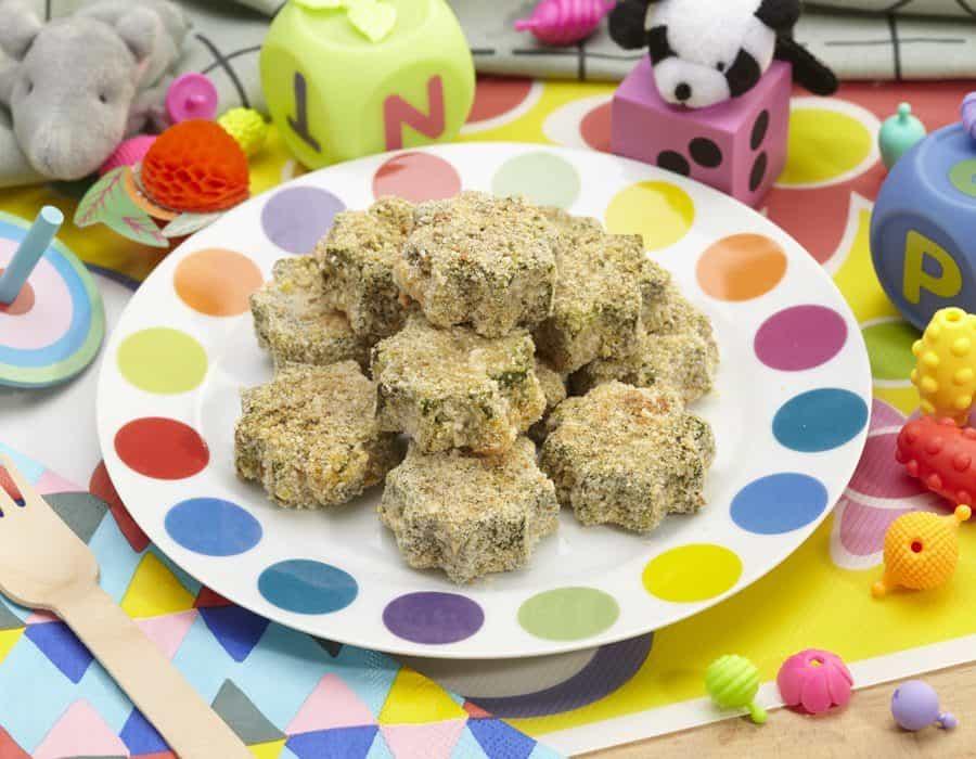 Stelline spinaci e lenticchie ricette per bambini 1-3 anni